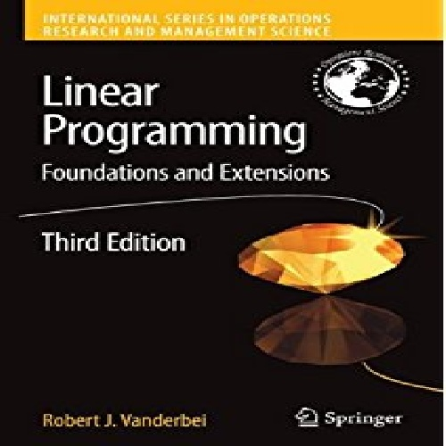 Linear Programming (Foundations and Extensions)